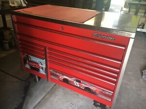 Snap On Limited Edition Tool Wagon Loaded With Snap On Tools Dale Earnhardt Jr