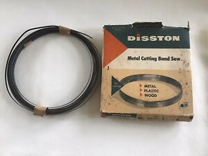Band Saw Blade Disston For Plastic Wood Metal 400 plus 33ft X 25 X 18 Tpi
