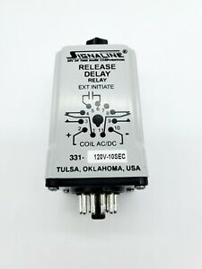 Time Mark Release Delay Relay 11 Pin 331 120v 10sec