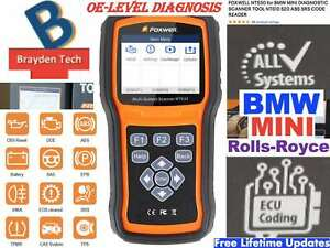 Foxwell Nt530 For Bmw Mini Diagnostic Scanner Tool I70pro Abs Srs Code Reader