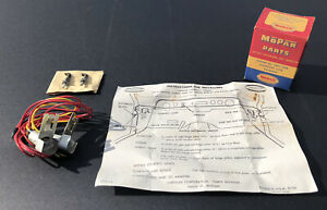 Nos Accessory 1955 1956 Plymouth Dodge Dodge Truck Interior Courtesy Lights