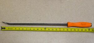Snap On Tools Striking Pry Bar 24 Tool Usa Spbs24 Orange Free Shipping