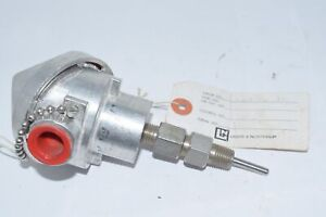 Leeds Northrup 125546 3 Type J Thermocouple Conax 1