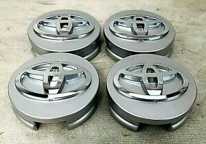 Set Of 4 For Toyota Camry Avalon 42603 06080 Wheel Center Hubcaps 62mm 2 5
