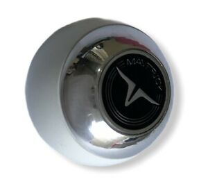Ford Maverick Shift White Chrome Knobs Logo Black