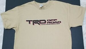 New Trd Off Road T Shirt 4x4 Truck Toyota Tundra Jdm Tacoma Nos Turbo J Spec