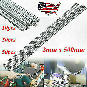 50pcs Durafix Aluminium Welding Rods Fast Easy Soldering Low Temperature