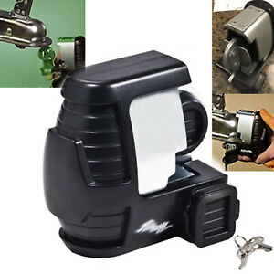 Trailer Lock Universal Coupler Tongue Hitch Rv Anti Theft Security Travel Boat