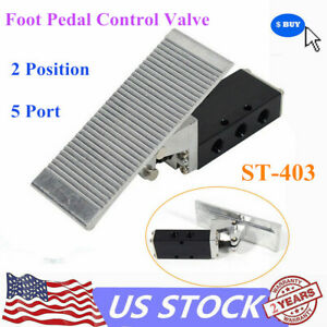 Foot Pedal Operated Control Valve 2 Position G3 8 Air Pneumatic Switch