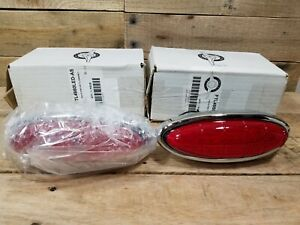 1949 1950 Ford Car Led Taillights Pair Taillight Tail Light Ftl4950led As