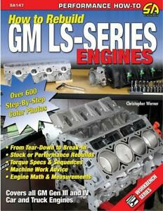 How To Rebuild Gm Ls series Engines Book Generation Iii Iv Brand New