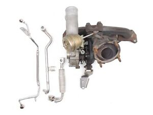 2001 Vw Beetle 1 8t Turbo Turbocharger Manifold Lines Assembly Factory 824