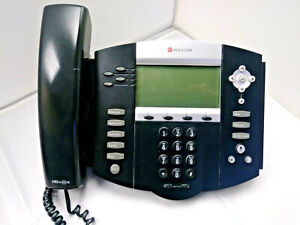 Polycom Soundpoint Ip 550 Voip Desktop Phone