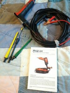 Snap On Multi Probe Ultra Circuit Tester Eect900 Power Probe With 3 Tips Manual