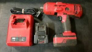 Snap On Ct8850 1 2 Monster Lithium Impact 18v W 2 4 0ah Batteries And Charger