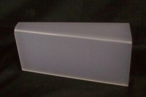 Store Display Fixtures 3 Frosted Acrylic Displays 10 25 Long X 4 5 Tall Shoes