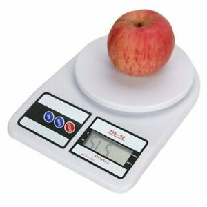 Lcd Digital Scale Kitchen Food Scale Packaging shipping Mail Scale 10kg 0 5g Us