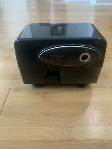 Panasonic Kp 310 Electric Pencil Sharpener Auto stop Black Works Ships Fast