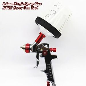 Hvlp Air Spray Gun W Cup 1 4mm Nozzle Automobile Car Feed Paint Spray Gun Tool