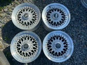 Super Rare Bbs Rs 038 15 7j 25 5 Holes Pcd114 3 Original Rims Japan