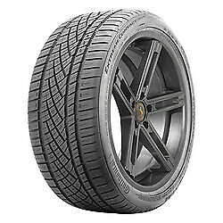 4 New 225 55zr17 Continental Extremecontact Dws06 Tire 2255517