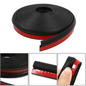 4m Z Shape Car Door Rubber Strip Hood Trunk Trim Edge Moulding Weatherstrip