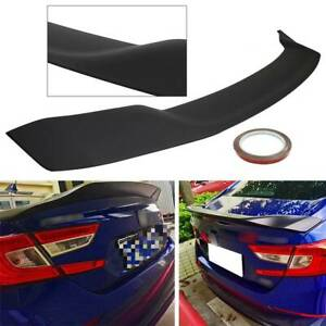 For 2018 2020 Honda Accord Jdm Style Matte Black Abs Rear Trunk Lid Spoiler Wing