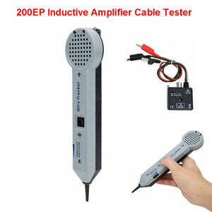 200ep Network Wire Inductive Cable Detector Tester Finder Tone Toner Generator