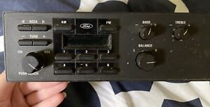 Old Ford Truck Fm Am Radio used For Parts Or Install Preowned Made In Brazil