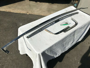 1963 Dodge Plymouth Rear Window Trim Savoy Belvedere Fury Sedan Max Wedge 426