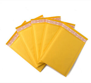 25 Pack 6 X 9 000 Kraft Bubble Mailers Self Seal Padded Shipping Envelopes