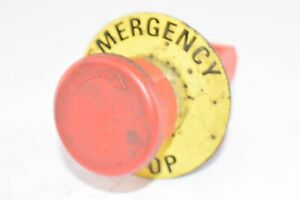 Red Emergency Stop Push Button Machine Switch 10a 24v
