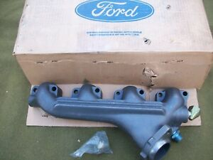 New Ford Left Side Exhaust Manifold 1988 1991 E250 F250 F350 F450 7 5l 460 Lh