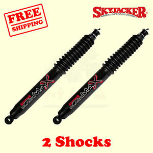 85 92 Suzuki Samurai 4wd 0 2 Lift Front Black Max Shocks Skyjacker