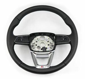 Audi Sport Steering Wheel S line Multifunction Leather Black For Audi Q5 Sq5 Fy