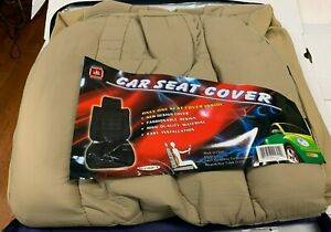 Pu Leather Car Auto Low Back Sport Racing Seat Covers Front Single Protector