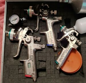 Sata Jet 2000 Digital Hvlp Satajet Nr2000 Hvlp Satajet Mini Spray Paint Gun Lot