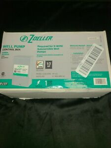 Zoeller Well Pump Control Box For 3 wire Submersible Pumps 1010 2336