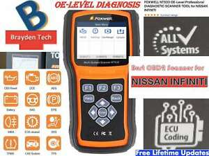 Foxwell Nt530 Oe Level Professional Diagnostic Scanner Tool For Nissan Infiniti