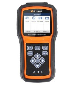 Foxwell Nt530 Diagnostic Scanner Tool Abs Airbag Code Reader For Honda Acura