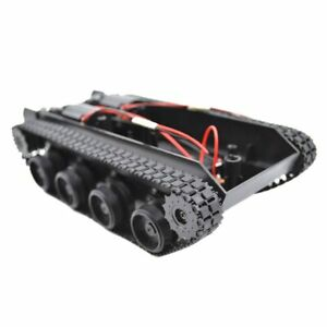 Rc Tank Smart Robot Tank Car Chassis Kit Rubber Track Crawler For Arduino 130