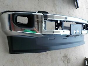 Factory Ford F250 F350 Chrome Front Bumper Oem 2020 Bb924e