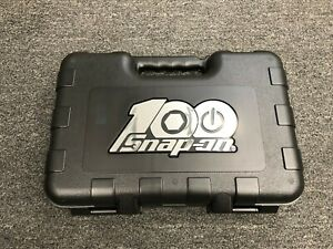 Snap on Tools Usa New 100th Anniversary Tool Case With Foam Insert Case Only