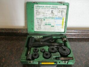 Greenlee 7906sb Quick Draw 90 Hydraulic Punch Driver Kit 1 2 2 Ships Free