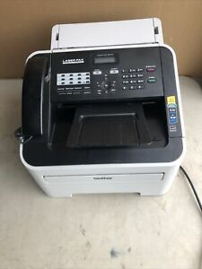 Brother Intellifax 2840 Laser Fax Machine W Drum Toner Page Count Just 11 574
