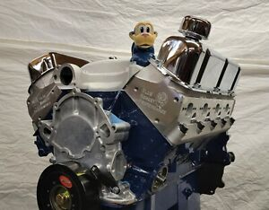 302 345hp Ford Crate High Performance Balanced Engine With Aluminum Heads