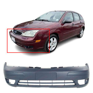 Primed Front Bumper Replacement Fascia For 2005 2006 2007 Ford Focus 05 07