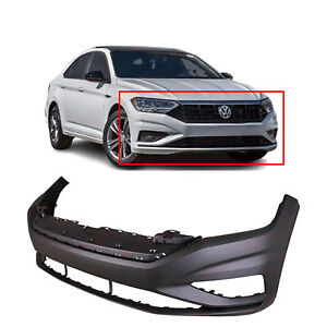 Primed Front Bumper Cover Replacement For 2019 2020 Volkswagen Vw Jetta