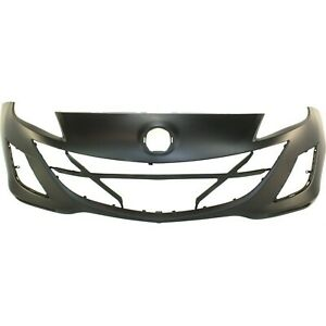 Front Bumper Cover Replacement For 2010 Mazda 3 2 0l 10 Primed Gs Gx I