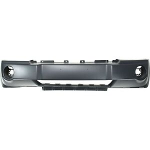 Front Bumper Cover For 2005 2006 2007 Jeep Grand Cherokee Suv 05 07 Primed